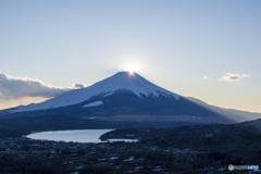 富士岬平からのダイヤ富士