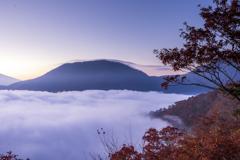 竜ヶ岳と雲海