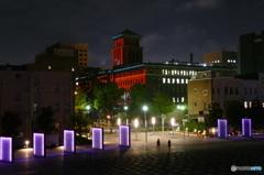 神奈川県庁プロジェクションマッピング