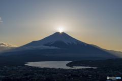 高指山ダイヤ富士