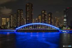 永代橋 オリンピックカラー