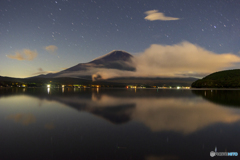 真夜中の山中湖