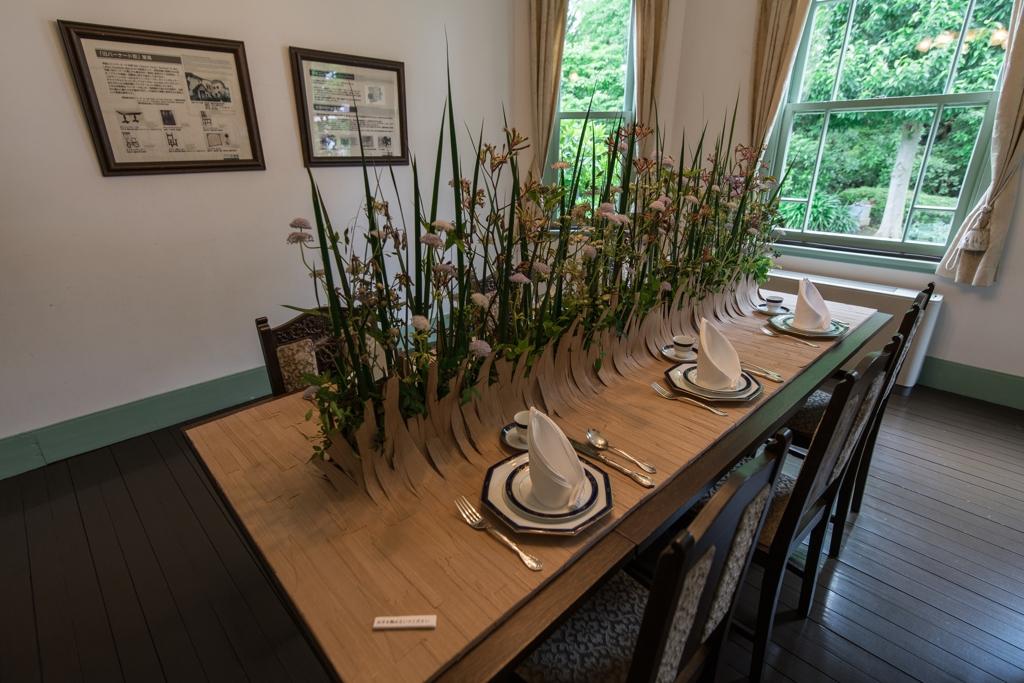 花と器のハーモニー ブラフ18番館