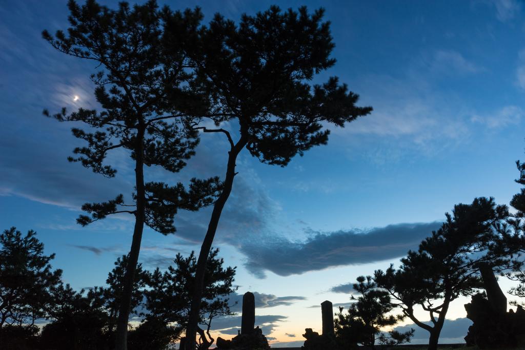 森戸の夕景