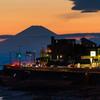 稲村ヶ崎から富士山が見えた日