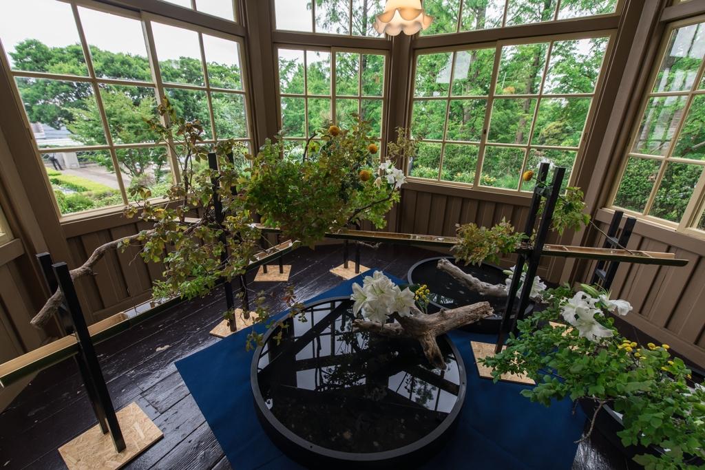 花と器のハーモニー 外交官の家