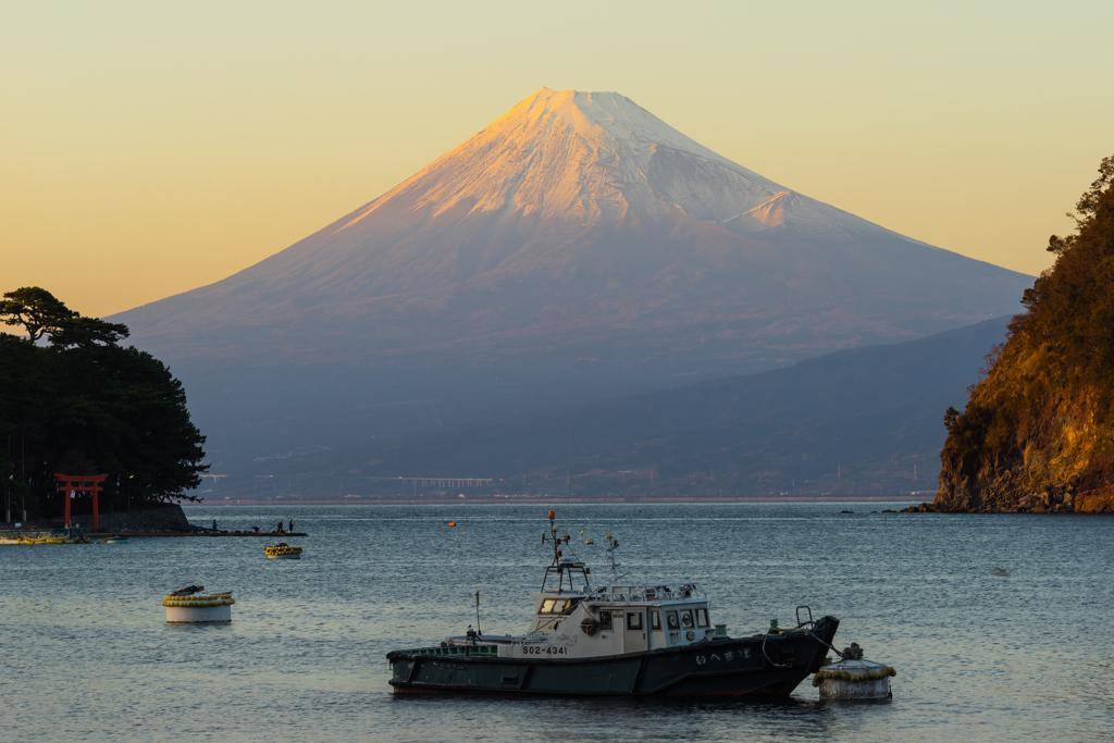 戸田村 富士山