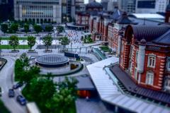 東京駅 ミニチュア