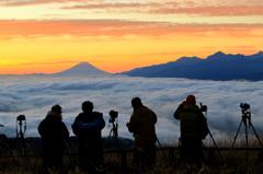 11月21日 富士を撮る