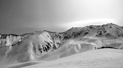 雪の立山#2