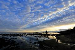 雨晴海岸の雲