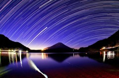 星降る精進湖