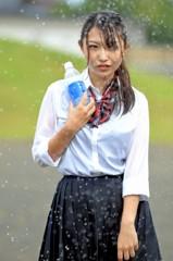 ポカリ女子 びしょぬれ