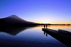 田貫湖の光
