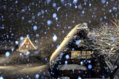 豪雪の五箇山