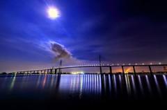 おぼろ月夜の大橋