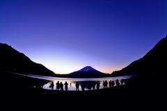 富士を撮るを撮る