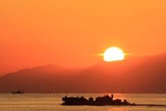 富山湾の朝#2