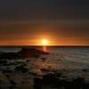 夕陽日本海 2