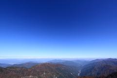 剣山山頂からの眺望