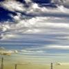 研究室から見た雲