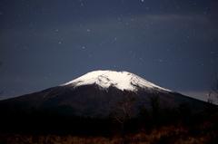 富士山と星空3