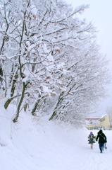 温まる冬の思い出