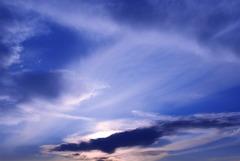 秋の雲は複雑