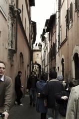 ローマの街