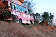 廃バス・・・