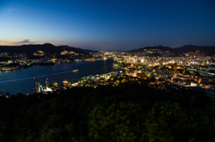 長崎湾夜景