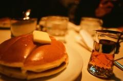 hotcake and syrup