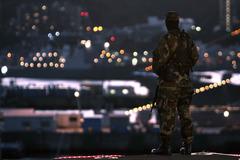 東の地で警備にあたる米兵は何を思うか