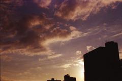 夕方の空色