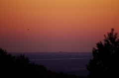 日の出前の一瞬