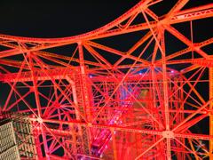 東京タワー、下から見るか? 横から見るか?