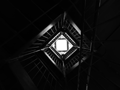 look [up]