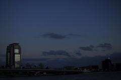 宍道湖にかかる橋
