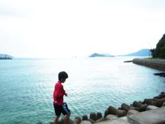海と少年と