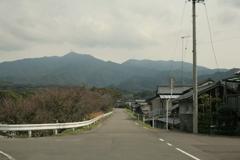 高縄山へ続く道