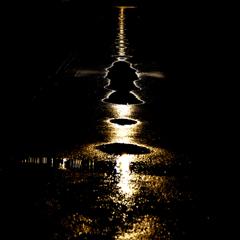 雨上がりの夜に