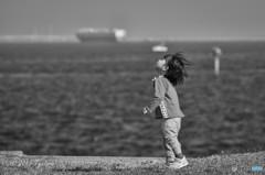 海風は友達