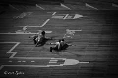 空飛ぶ二人