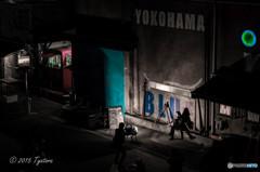 横浜タブレットナイトブルー