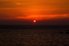 夕景 城ヶ島