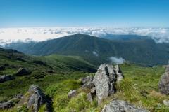 早池峰山からの眺望