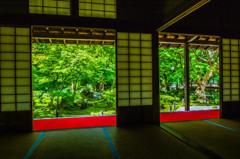 円光寺 額縁庭園 京都