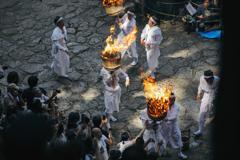 那智の扇祭り(御火行事)