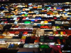 バンコクの夜市