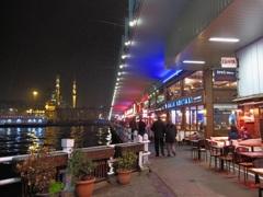 ガラタ橋とモスク